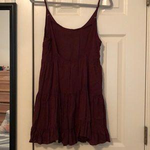 Brandy Melville Dresses - Brandy Melville maroon dress